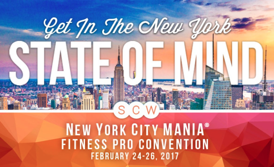 Coming Up Scw Fitness Mania In Nyc